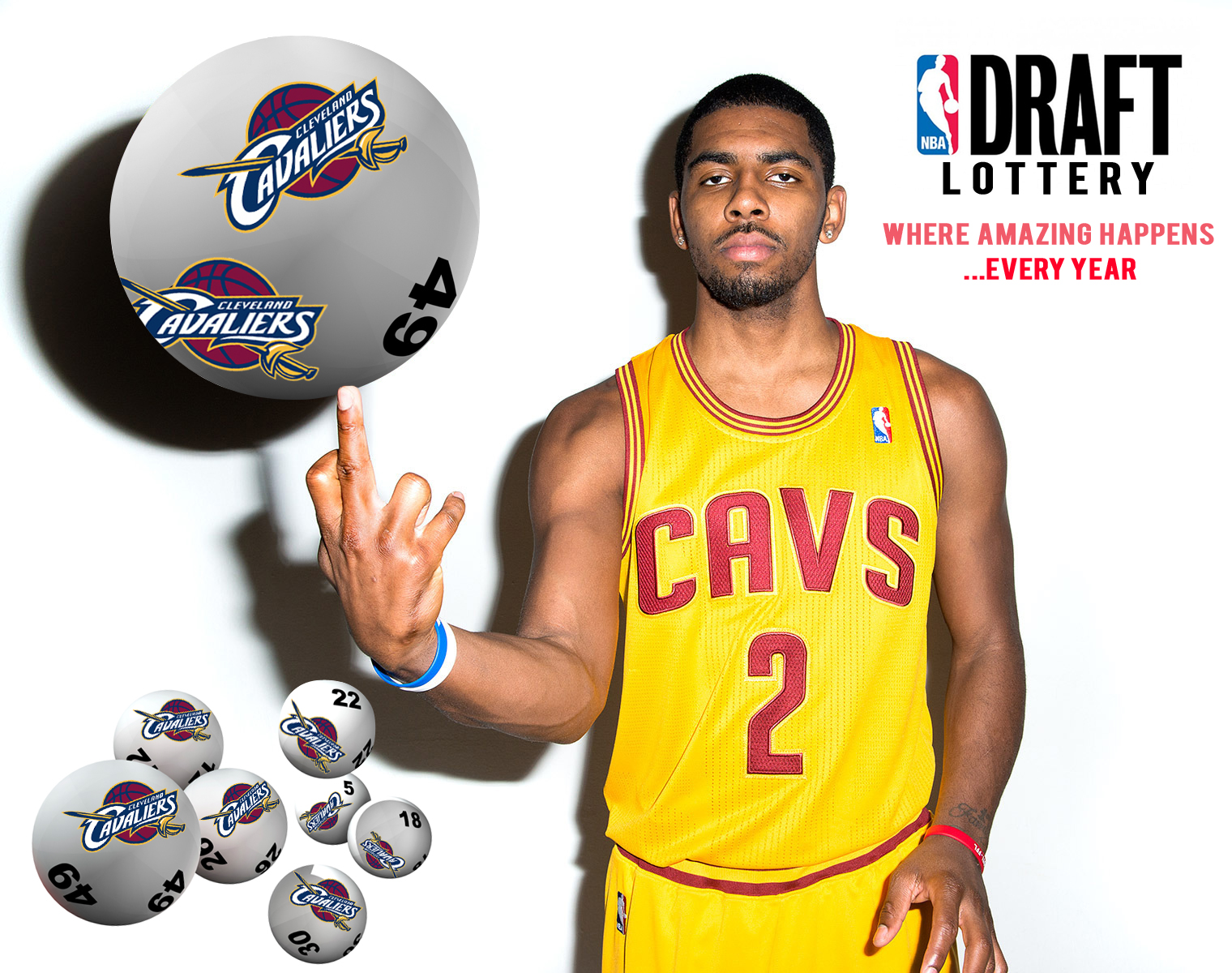 NBA Draft lottery: the Cleveland Cavaliers get the #1 pick… again!
