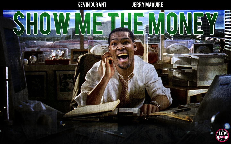 SHOW ME THE MONEY – ALP HOOP Jerry Maguire Show Me The Money